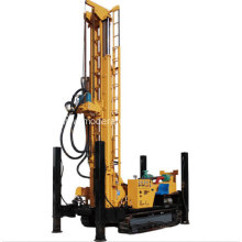 400M Crawler-mounted Rotary Hydraulic Borewell Drilling Rig